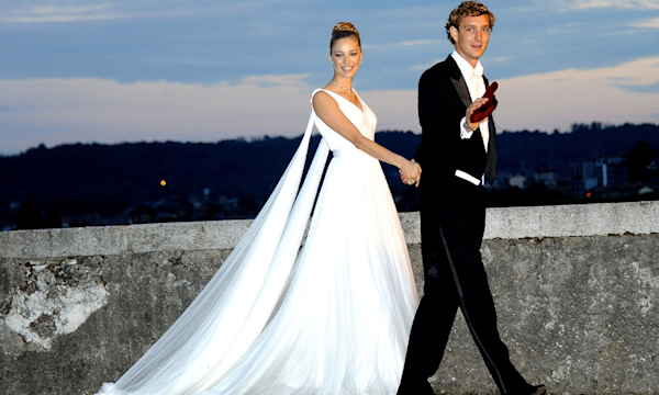 Beatrice Borromeo wears two dresses for second wedding