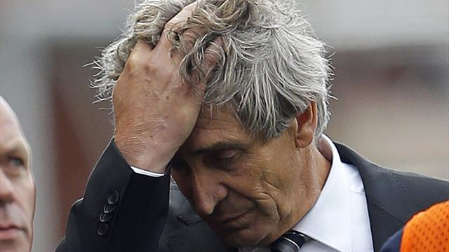 Premier League - Pellegrini admits mistake in maths mix-up