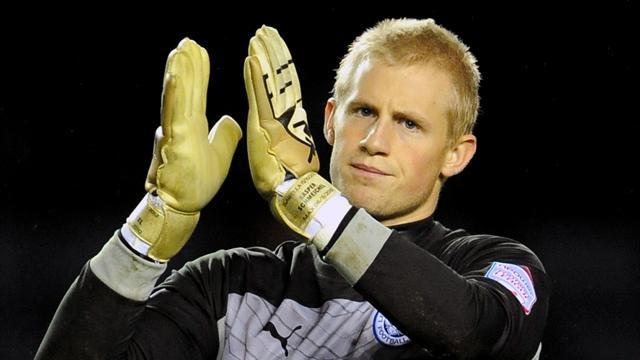 Championship - Goalkeeper Schmeichel scores to snatch point for Leicester