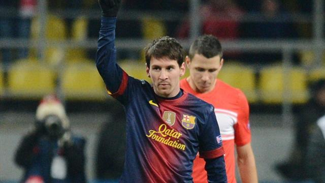 Champions League - Team of the Week: More Messi milestones