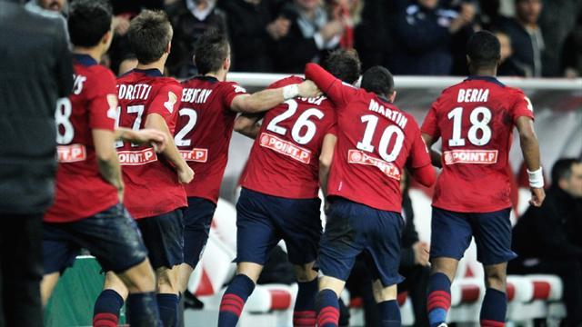 Ligue 1 - Lille through to quarters with last-gasp win