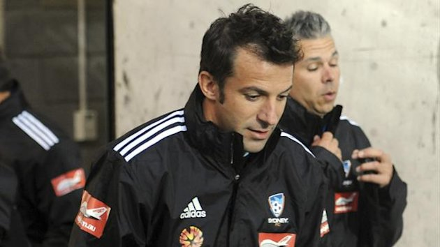 Alex Del Piero - Sydney FC - A-League 2012-2013 (AP/LaPresse)