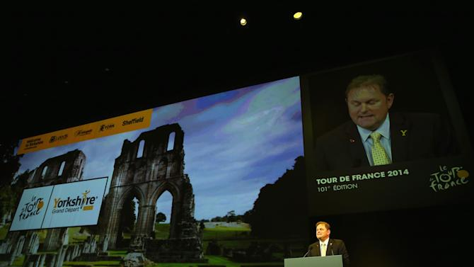 Le Tour de France 2014 Route Announcement