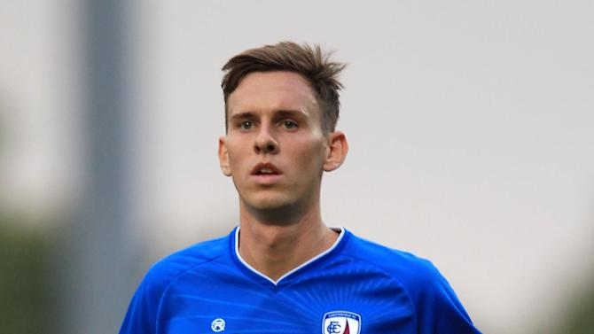 Mark Randall (pictured) and Danny Whitaker are the latest of five players to accept new terms at Chesterfield