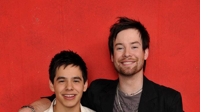 David Archuleta and David Cook are the top 2 finalists on American Idol.