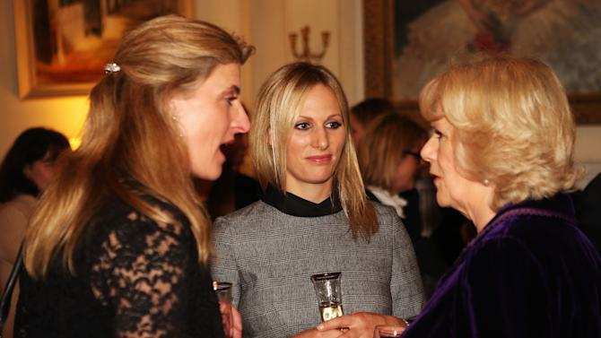 The Duchess Of Cornwall Hosts A Reception For British Equestrian Teams From The London 2012 Olympics And Paralympics