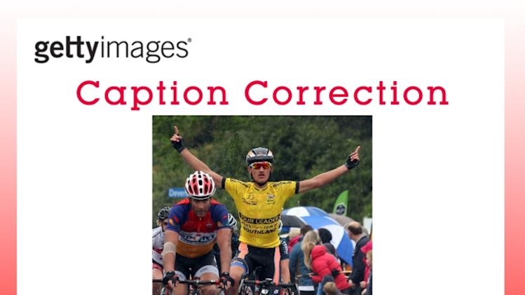 CAPTION CORRECTION: 2013 Tour of Southland