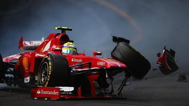 Formula 1 - Rosberg quickest again as Massa crashes out of FP3