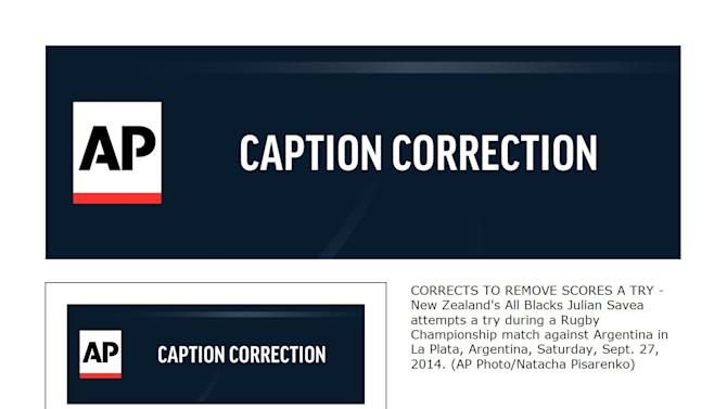 UK picture buyers only CORRECTS TO REMOVE SCORES A TRY XNP111