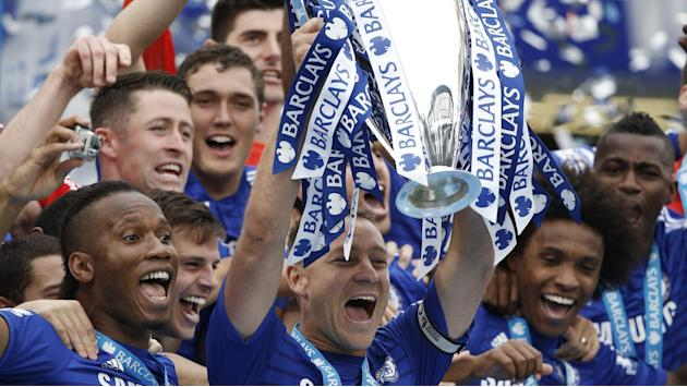 Champions Lift Trophy As Drogba Bows Out