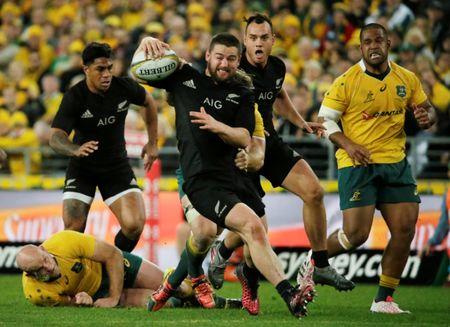 Australia Rugby Union - Bledisloe Cup - Australia's Wallabies v New Zealand All Blacks - Olympic Stadium, Sydney