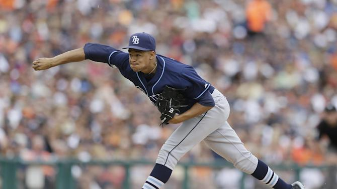 Archer pitches into 9th, Rays beat Tigers 7-2