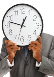Top 15 Things Every Successful Customer Service Representative Must Do image man holding clock