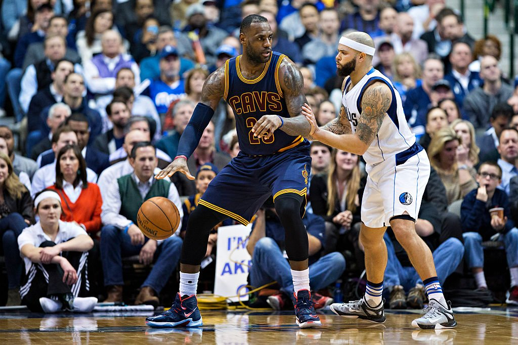 Deron Williams might not have to guard LeBron James anymore, which is a nice perk. (Getty Images)