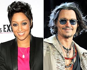 Tia Mowry: I'm Celebrating Mother's Day With Johnny Depp!