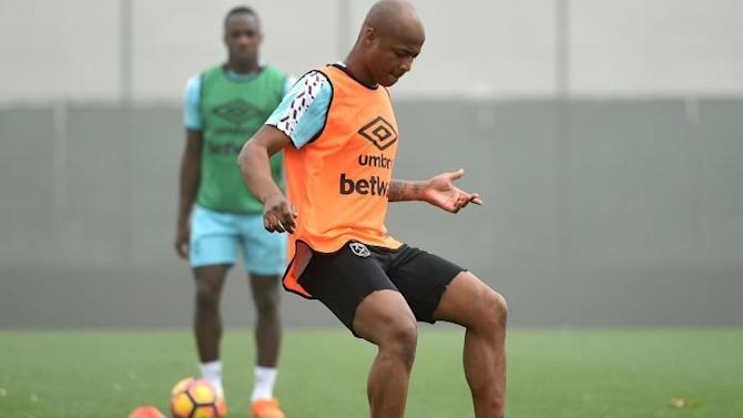 Andre Ayew reveals he played through the pain barrier for West Ham this season
