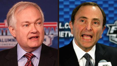 Don Fehr and Gary Bettman