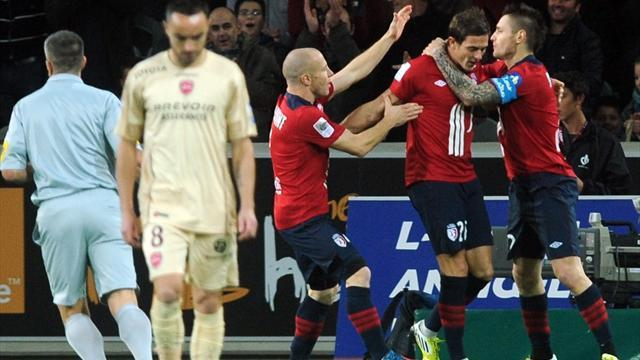 Ligue 1 - Lille labour to win over Valenciennes