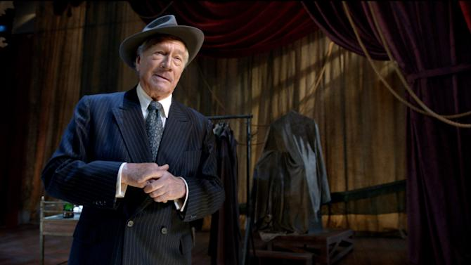 "This film image released by Image Entertainment shows Christopher Plummer portraying John Barrymore in ""Barrymore."" (AP Photo/Image Entertainment)"