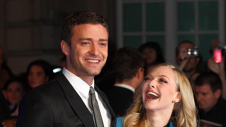 In Time UK Premiere 2011 Justin Timberlake Amanda Seyfried