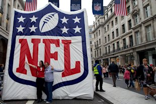 The NFL has been staging games in London since 2007. (AFP)