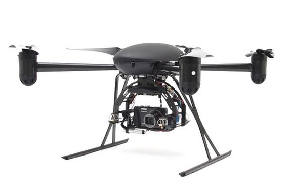 The X4-P, a configurable drone produced by Draganflyer.