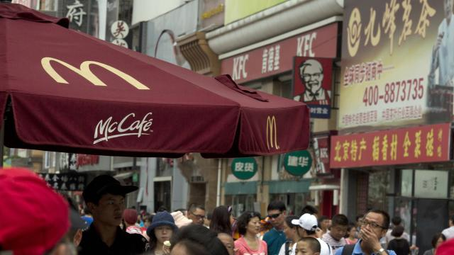 McDonald's and Yum are fighting for China
