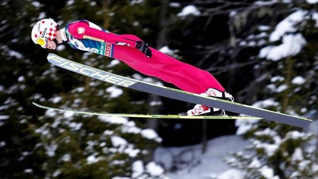 Ski Jumping - Stoch claims back-to-back World Cup wins
