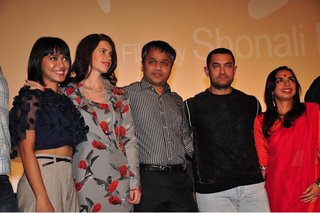 Aamir Khan, Kalki Koechlin At The Trailer Launch Of Margarita With A Straw