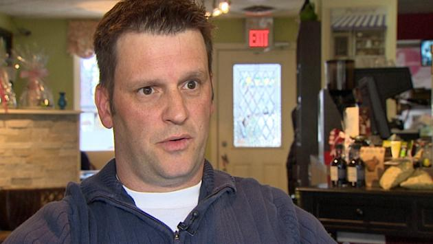 David Rae says that his honeymoon ended with an abrupt stop in Windsor, Ont., followed by a bus ride to Toronto.