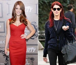 Ashley Greene Dyes Her Hair Red!