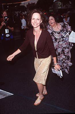 Sally Field at the Westwood premiere of Dreamworks' Saving Private Ryan