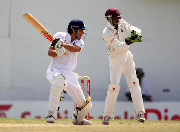West Indies v England - 3rd Test Day Four