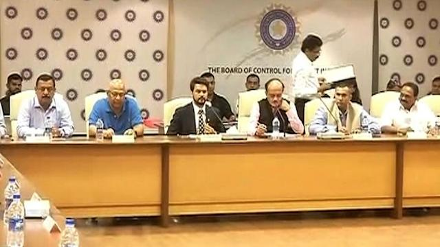 Anurag Thakur becomes youngest ever BCCI president
