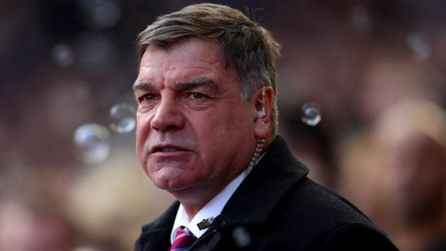Sam Allardyce, West Ham United manager (PA Photos)