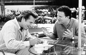 Jeff Bridges and Albert Brooks in USA Films' The Muse