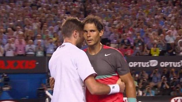 Ext. Highlights: Wawrinka v Nadal