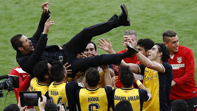 Football - Rob Smyth's review of the year: Atletico's astonishing achievement