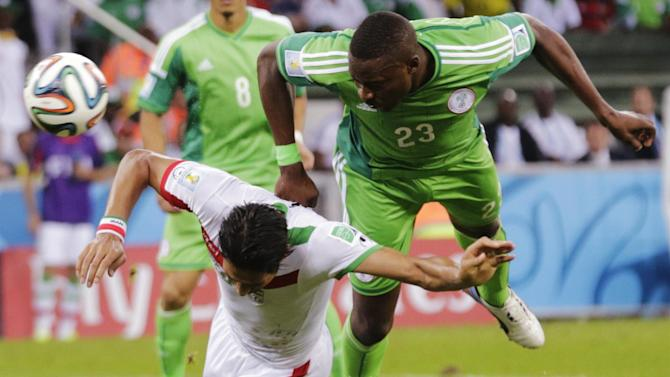 World Cup - Bore draw does nothing for Iran or Nigeria