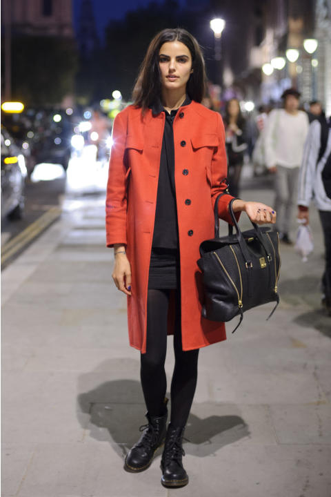 LFW SS2013: Street Style Day 2