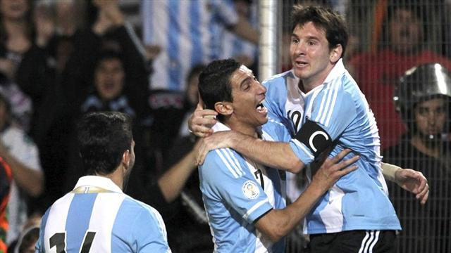 World Cup - Argentina continue winning form in Chile