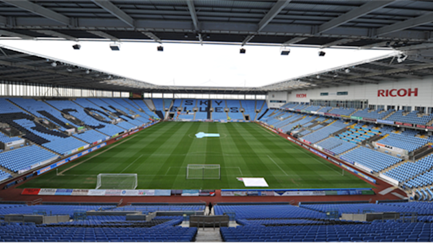 Coventry City - London 2012 venue