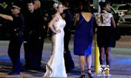 Wedding Brawl Ends With Groom Held By Police