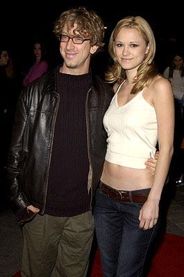 Premiere: Andy Dick and gal at the Hollywood premiere of Paramount's Orange County - 1/7/2002