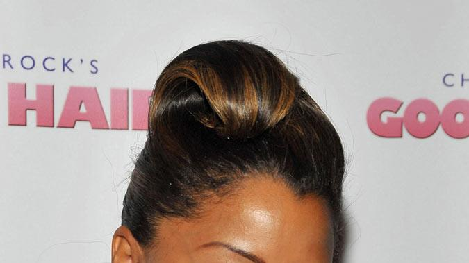 Good Hair LA Premiere 2009 Claudia Jordan