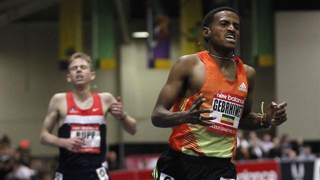 Athletics - Gebrhiwet and Suhr on form at Boston Grand Prix