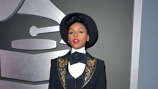 The 55th Annual GRAMMY Awards - Red Carpet: Janelle Monae