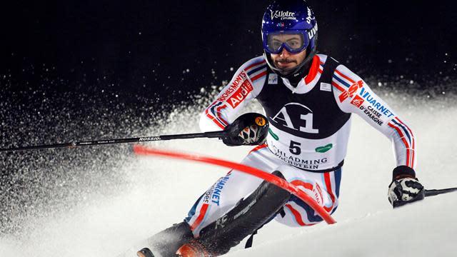 Alpine Skiing - Grange returns to slopes in Italy