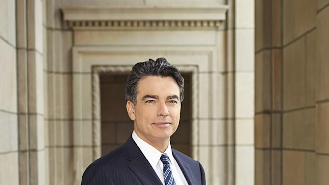 """Peter Gallagher as Authur Campbell in """"Covert Affairs."""""""