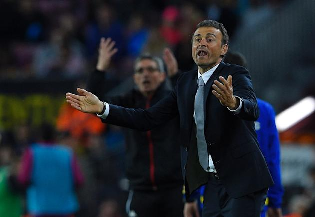 Barcelona's coach Luis Enrique believes the Spanish champions took a big step towards retaining their title as they overcame 10-man Betis 2-0